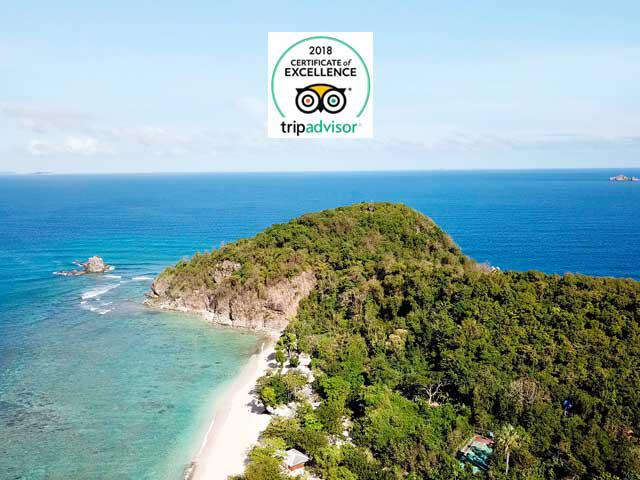 Best Resort In Coron Palawan Earns 2018 Tripadvisor Certificate