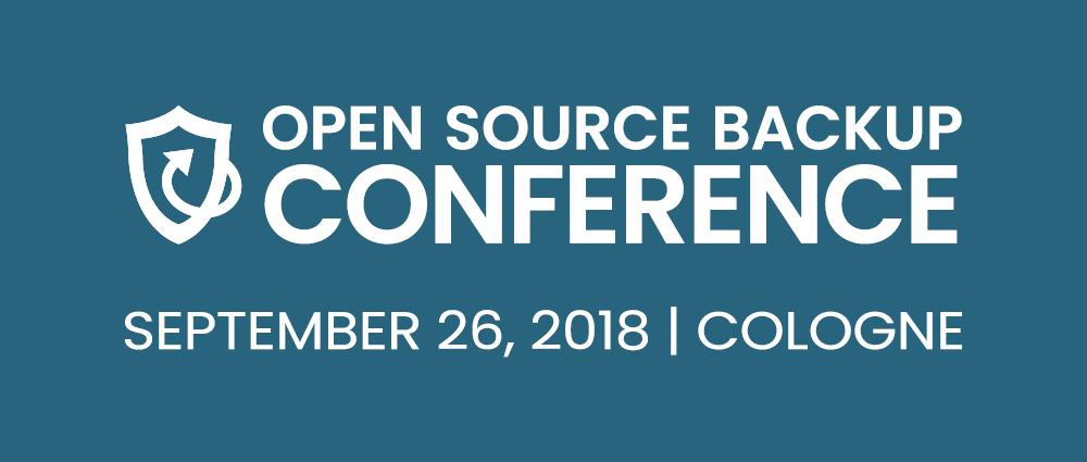 Open Source Backup Conference 2018