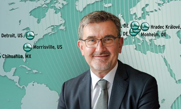 Karl Wagner New Vice President Program Management at Bühler Motor North America