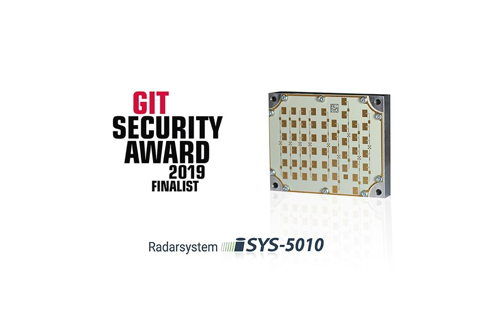 The iSYS-5010 radar system is a finalist of the GIT Security Award (Source: InnoSenT GmbH).