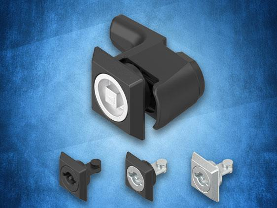 New toolless assembly quarter-turn latch from FDB to IP69K