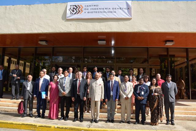 President of India visits CIGB today to reinforce bilateral