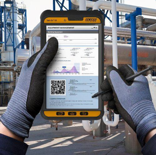ecom presents new industrial tablet TabEx 02-The Machine Maker