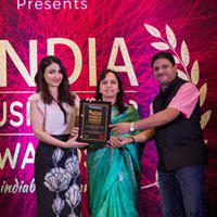 Shreekant Patil & Sneha Patil Felicitated by Soha Ali Khan