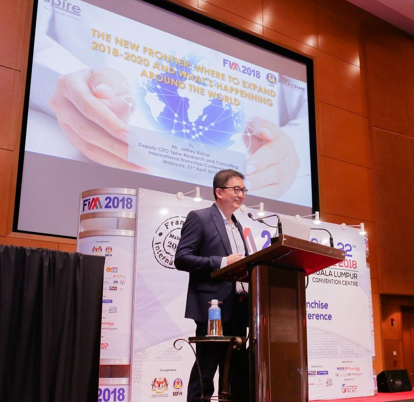 Spire, Event, Jeffrey Bahar, Ecommerce, Retail, Online Market, International Franchise Conference