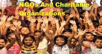 NGOs And Charitable Organizations