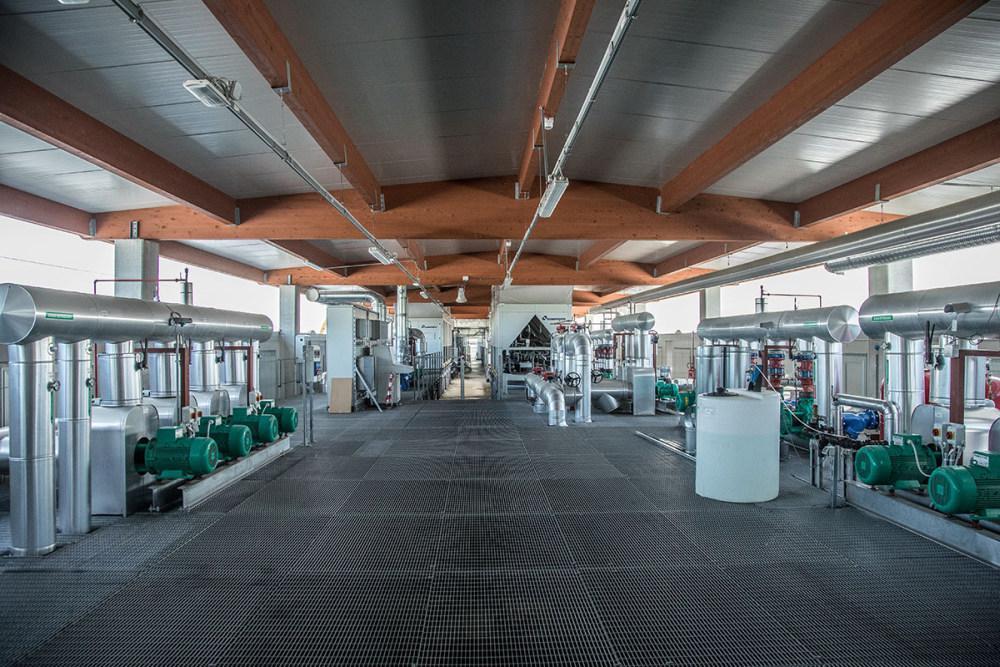 Barberini new plant, Climaveneta