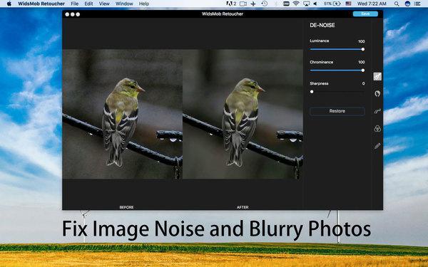 fix image noise