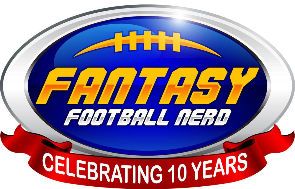 Fantasy Football Nerd 10th Anniversary Logo