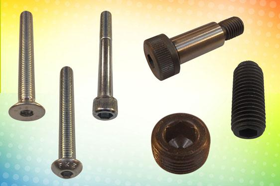Ex-stock socket screws and bolts from Challenge Europe