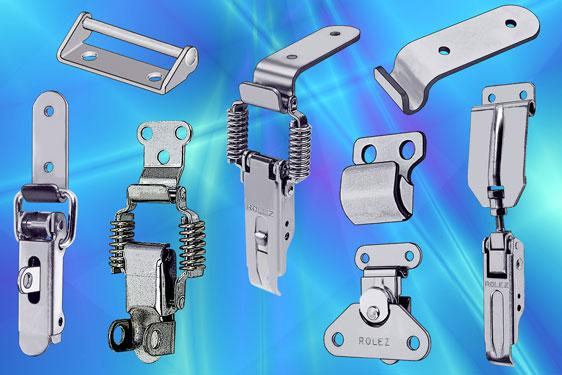 EMKA toggle and hook latches - quick and convenient spring closure