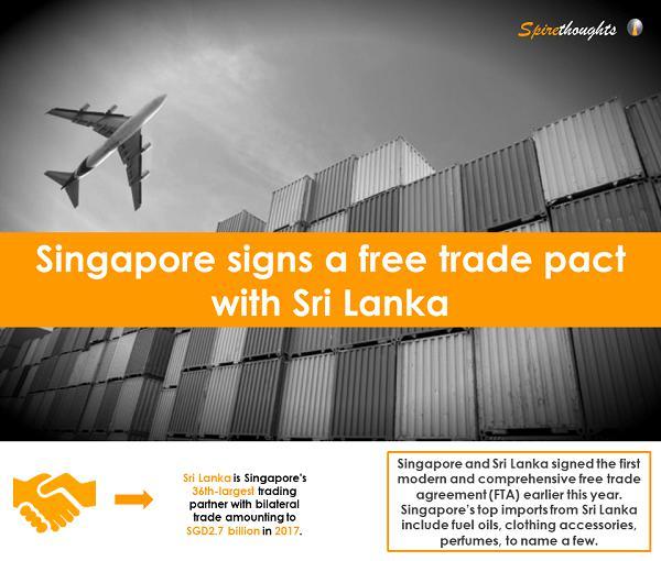 Spire, Singapore, FTA