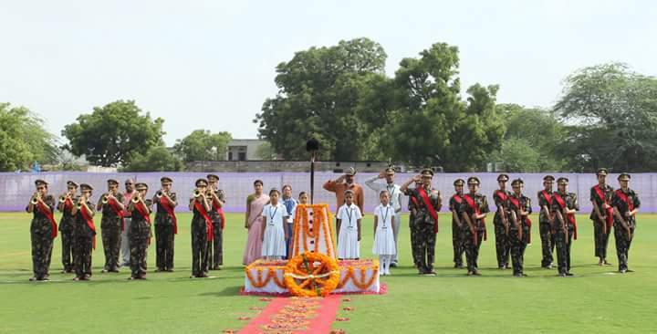 Shaheed Diwas at Banasthali to Mark August Kranti