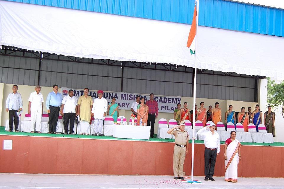 JMA Pilani Celebrates 72nd Independence Day