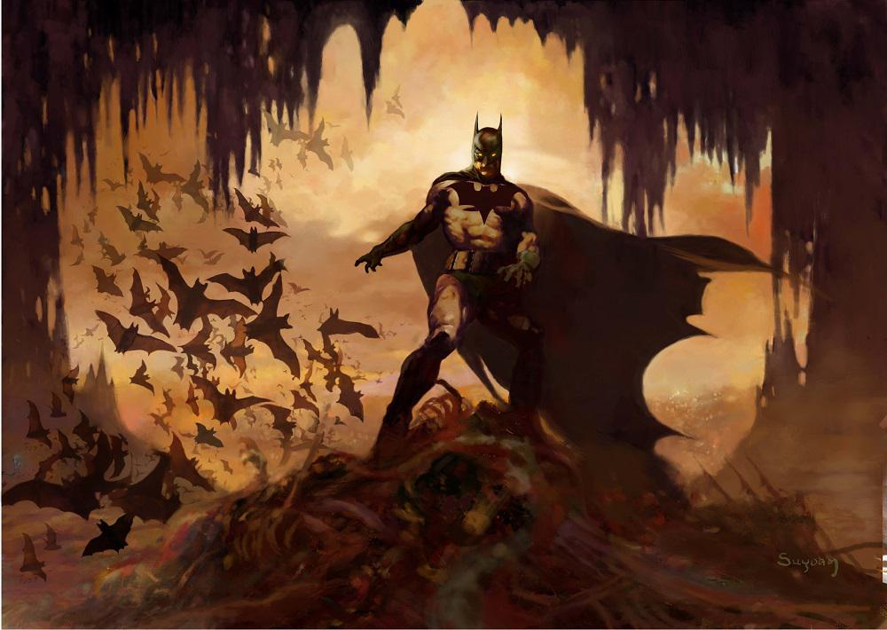 'Batcave' by Arthur Suydam