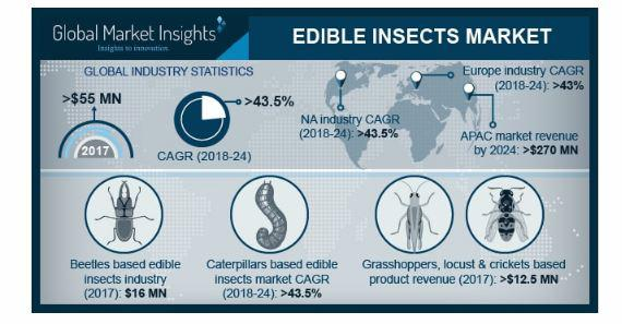 Edible Insects Market