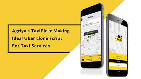 Taxipickr uber clone