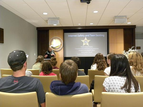 Safe Internet use is one of the seminars held at the Clearwater Human Rights Center