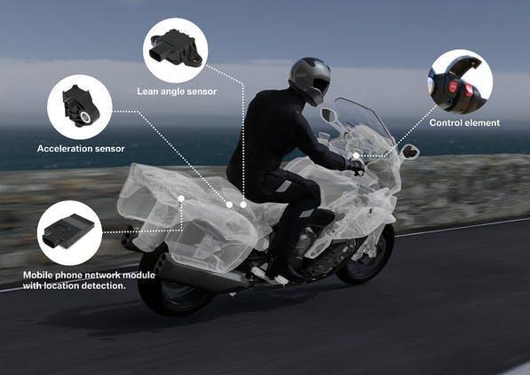 Motorcycle E-Call
