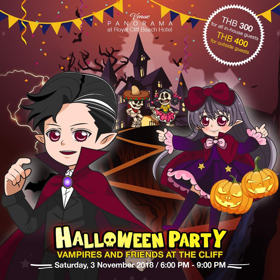 Join the Best Halloween Family Party of the Year at Royal Cliff,
