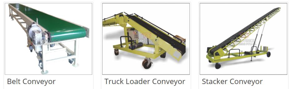Material Handling Conveyor - Manufacturer & Supplier from Pune