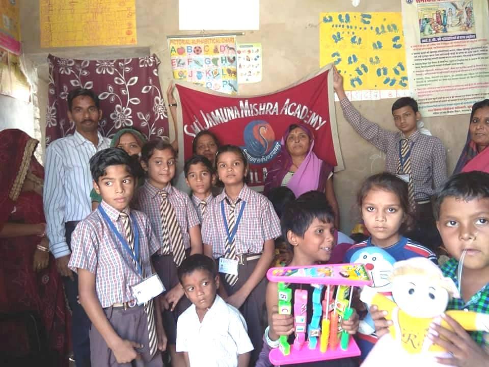 Joy of Giving Daan Utsav 2018: JMA Pilani Brings Smiles with Toys at Anganwadi School
