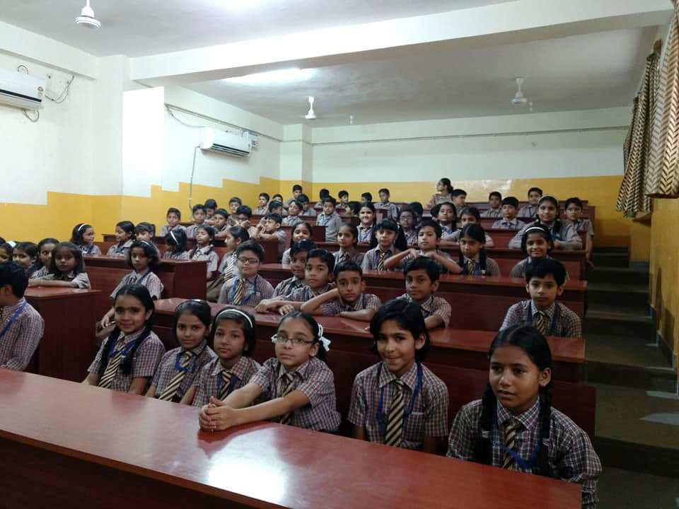 Competitions Galore at JMA Pilani Hindi Diwas Day Celebrations