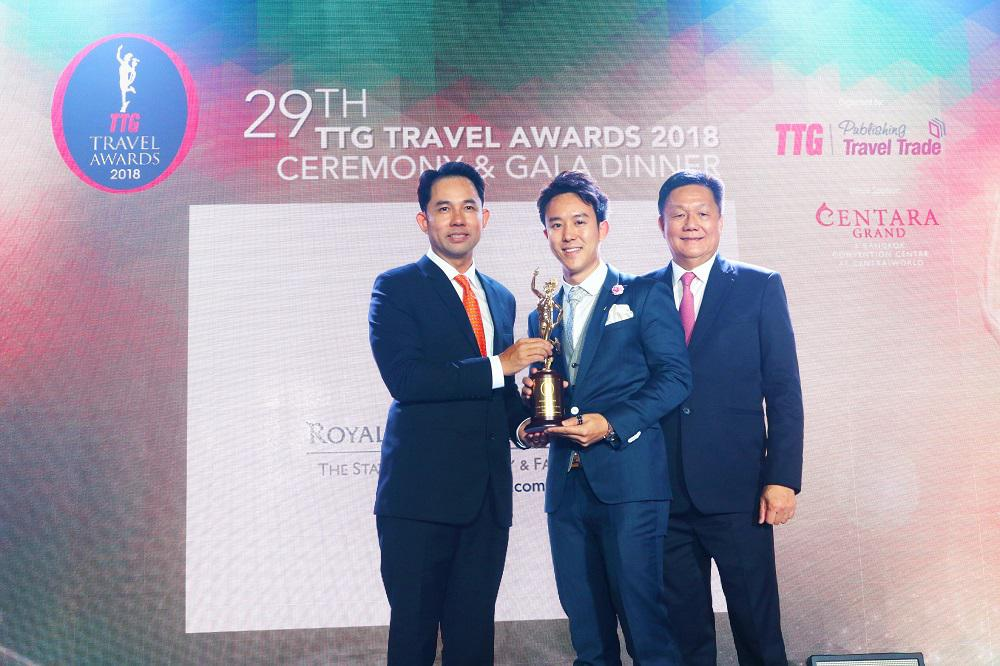 Royal Cliff's 12th Year in Conquering the TTG Travel Hall