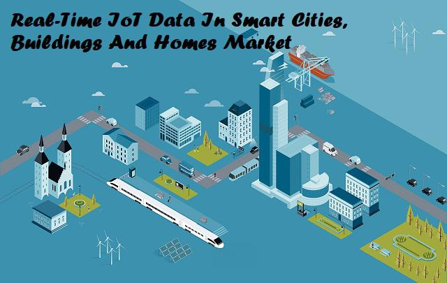 Real-Time IoT Data In Smart Cities, Buildings And Homes Market
