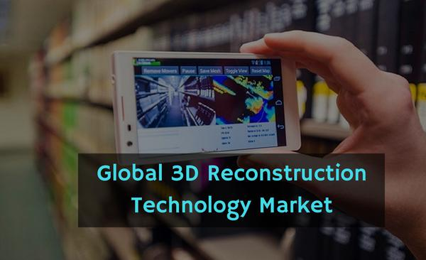 3D Reconstruction Technology Market will rise at the CAGR of 8.7%
