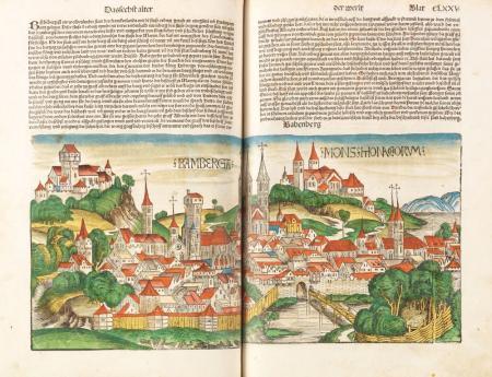 Hartmann Schedel, Das Buch der Chroniken und Geschichten, Nuremberg, 1493. Estimate: € 120,000