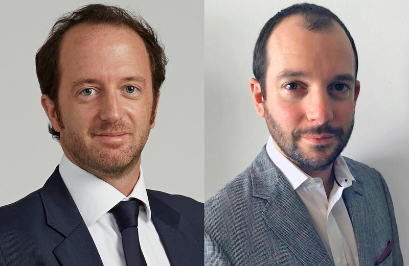 Frederic Arnaud and Thomas Shaw-Dunn, Management of Tractebel Engineering in Dubai, U.A.E.