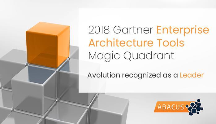 Avolution recognized as a Leader in 2018 Gartner Magic Quadrant