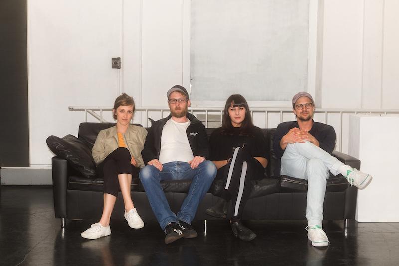 Artists from left to right: Ina Gerken, Jonas Maas, Anna Nero, Wilhelm Beermann