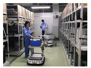 Hospital Logistics Robots
