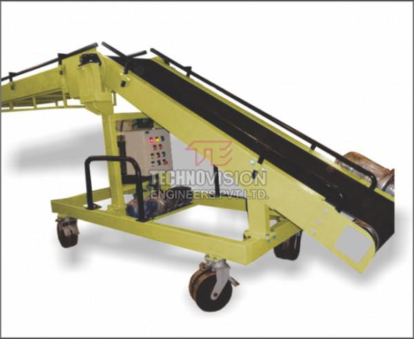 Loading Unloading Conveyor - Truck Loader Unloader Conveyor