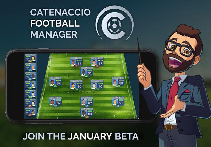 Join the Catenaccio Football Manager BETA