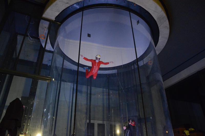 First Flight in Winterthur: ISG's latest vertical wind tunnel