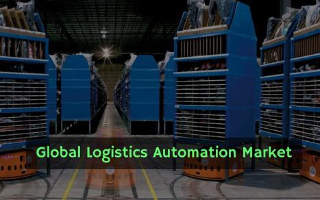 Logistics Automation Market Size is Gaining With 12.3% Rate