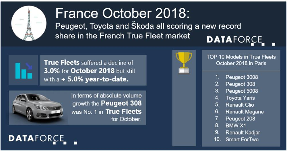 French True Fleets: Peugeot, Toyota and Škoda all scoring a new