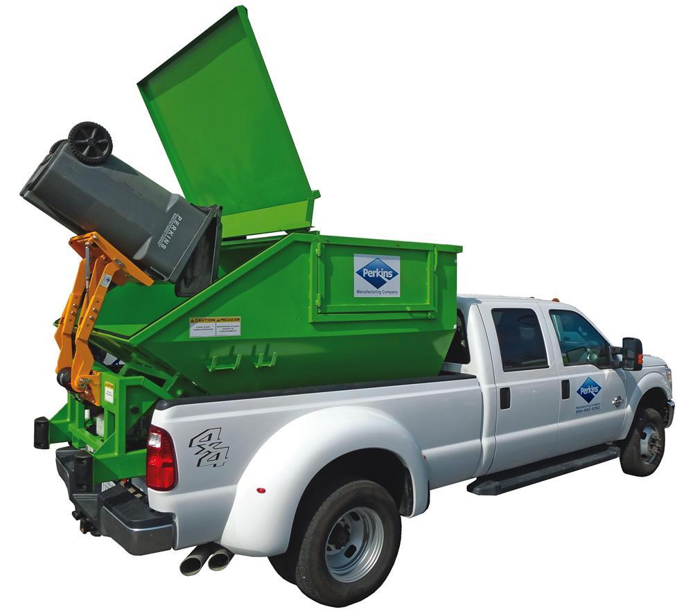 Sealed Garbage Truck