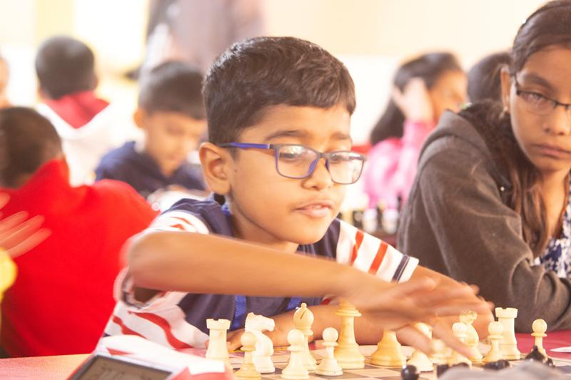 Top 12 Finalists from Edify Chess Tournament to play with