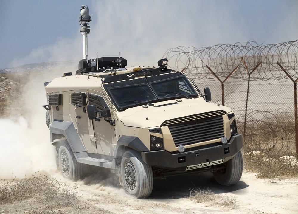 Plasan's armored vehicles offer high-end protection and mission readiness. (image: Ronen Topelberg)