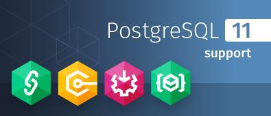 Support for PostgreSQL 11 in dotConnect for PostgreSQL,