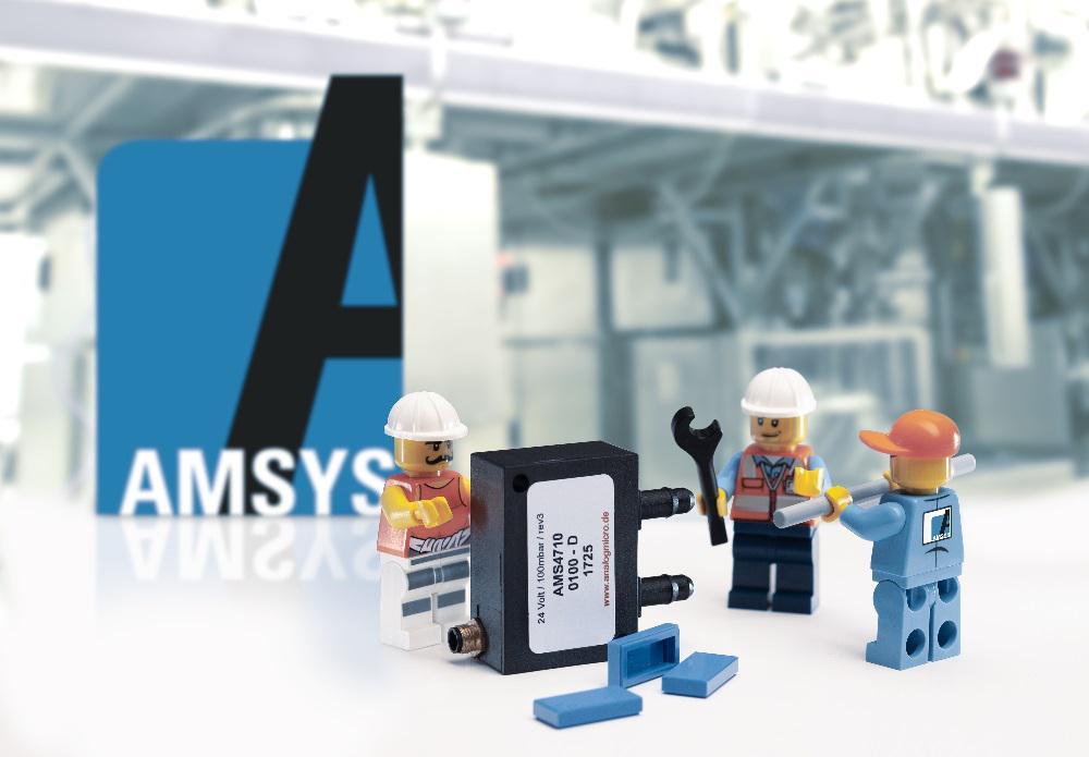Pressure transmitter AMS 4710 in robust plastic housing