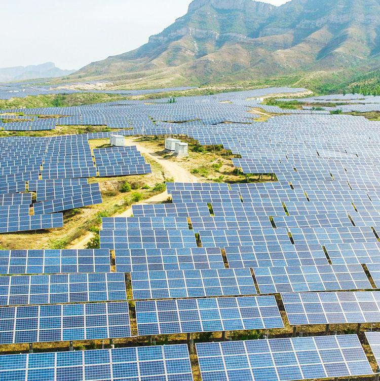 Risen Solar Power Plant in China