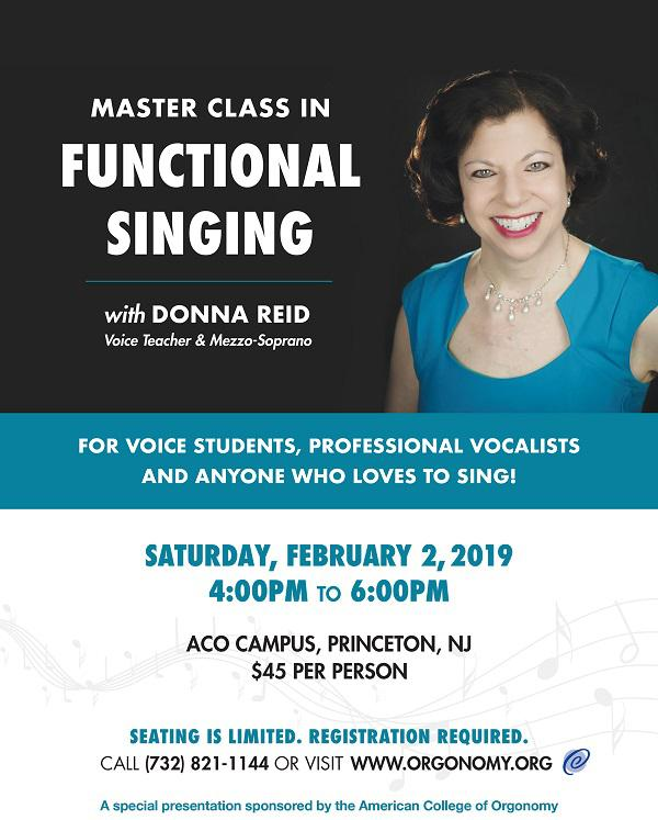 Master Class in Functional Singing