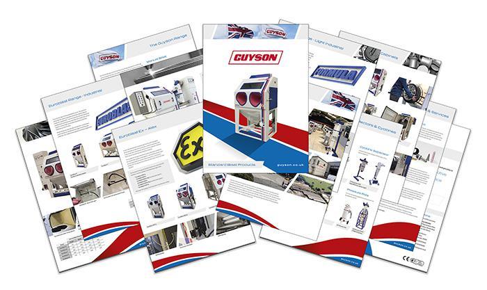 Guyson's new 'Standard Blast Products' brochure