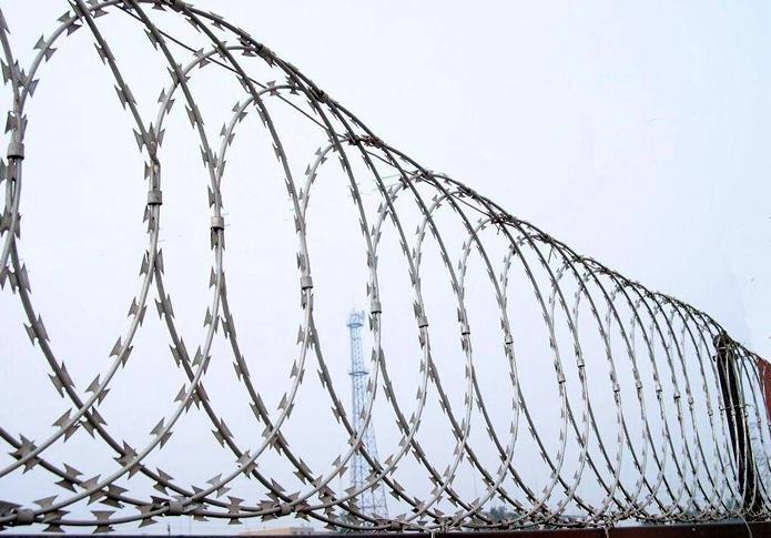 Flat Razor Wire Panel