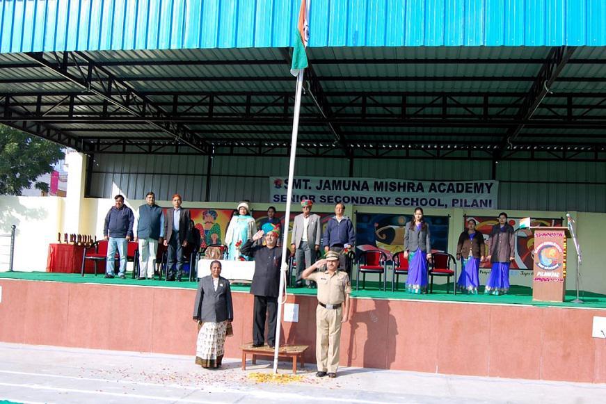 JMA Pilani Rajasthan Celebrates 70th Republic Day President of India Award winner ADM Shri Dinesh Chandra Bhargava Chief Guest